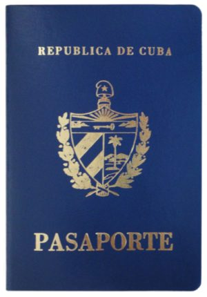 Current_cover_Cuban_passport